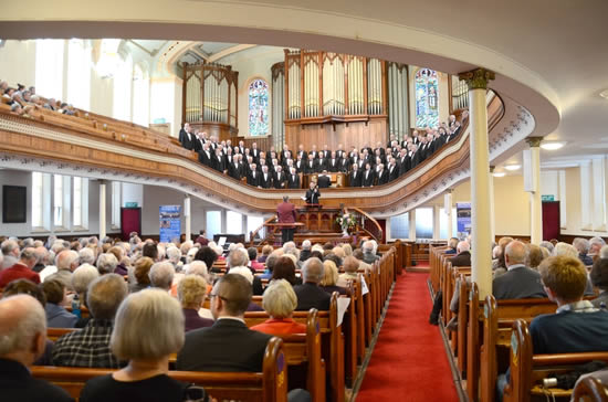 Morriston RC Choir at Morriston Tabernacle